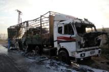 """Syrie: raid meurtrier contre un convoi humanitaire après la """"fin"""" de la trève"""