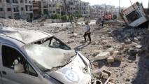 Syrie : 81 morts dans des raids syriens et russes à Alep en 24 heures