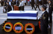 Mort de Shimon Peres: Israël se recueille sur sa dépouille en attendant les leaders de la planète