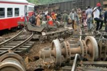 Cameroun: 55 morts et 600 blessés dans le déraillement d'un train