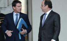 Hollande et Valls poursuivent leur mano a mano au sommet de l'Etat