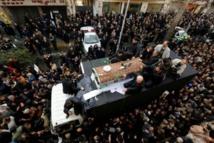 Iran: marée humaine à l'enterrement de l'ex-président Rafsandjani