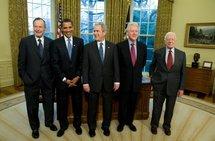 Au sommet des anciens présidents, Obama ne veut retenir que le meilleur