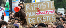 Les syndicats d'enseignants décident de sécher les voeux de Sarkozy