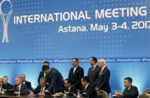 Syrie: accord Russie-Turquie-Iran sur la création de zones sécurisées