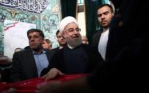 Iran: le président sortant Hassan Rohani largement en tête