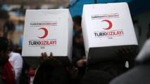 Aides régulières du Croissant rouge turc à 4,5 millions de Syriens