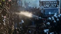 Les manifestants perturbent le G20 avant un face à face Trump-Poutine