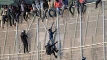 Plus de 185 migrants parviennent à entrer dans l'enclave espagnole de Ceuta au Maroc