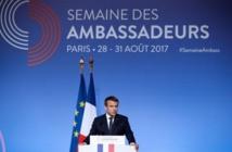 Macron fait de la lutte contre le terrorisme sa priorité diplomatique
