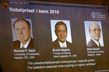 Nobel/chimie: un trio récompensé pour des travaux utiles contre le cancer