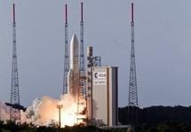 Lancement réussi de deux satellites par la fusée Ariane 5