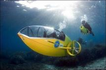Un sous-marin à pédales français primé aux Etats-Unis