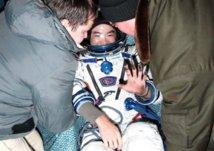 Espace: retour sur Terre de trois spationautes de l'ISS