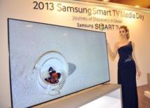 """Samsung lance des TV """"intelligentes"""" à écran géant, secteur clé pour le groupe"""