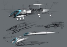"Ni avion ni train, ""Hyperloop"" promet un voyage supersonique en... capsule"