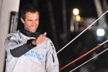 Armel Le Cléac'h bat le record de la Méditerranée en solitaire