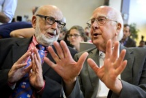 François Englert et Peter Higgs