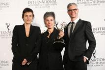 """Les producteurs de la série """"Les Revenants"""" Carole Scotta, Caroline Benjo et Jimmy Desmarais"""