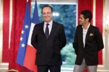 jamel Debbouze et François Hollande