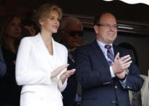 Le prince Albert II de Monaco et son épouse Charlène