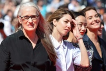 La présidente Jane Campion et des membres du jury Sofia Coppola, Jeon Do-yeon et Carole Bouquet