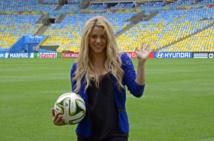 Mondial: Shakira, Santana et samba pour la cérémonie de clôture