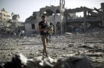 La bande de Gaza sous le feu d'Israël lancé à la recherche d'un des siens