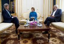 John Kerry , Catherine Ashton et Mohammad Javad Zarif