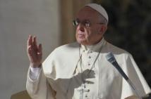 UE: le pape François est arrivé à Strasbourg