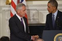 Etats-Unis: Obama se sépare de Chuck Hagel, chef du Pentagone
