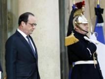 Attentats: nouvelle réunion de crise autour de Hollande à l'Elysée