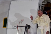 """Le pape François: pas de droit à """"insulter"""" la foi d'autrui"""