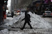 Moins de neige à New York que prévu, les autorités défendent leur décision