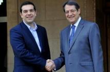 Alexis Tsipras et Nicos Anastasiades
