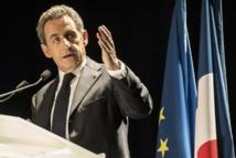 """Sarkozy met la gauche en émoi en évoquant le """"FNPS"""""""