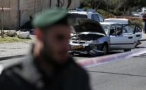 Jérusalem: cinq Israéliens blessés dans une attaque palestinienne