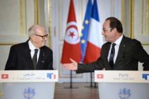 """Tunisie: Essebsi reçoit à Paris la promesse d'une """"coopération exemplaire"""""""