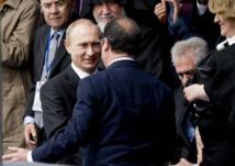 """Ukraine: Hollande appelle Poutine à """"aller de l'avant"""""""