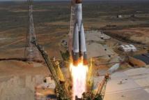 Un cargo spatial russe ravitaillant l'ISS en difficulté