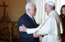 """Le pape François à Mahmoud Abbas: """"Vous êtes un ange de paix"""""""