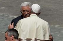 """Abbas """"ange de la paix"""": le pape a voulu encourager les efforts de paix"""