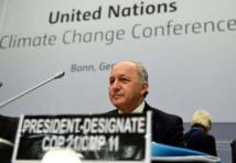 """Climat: la France met la pression pour un """"pré-accord"""" avant la conférence de Paris"""