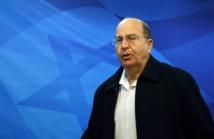 Le ministre israélien de la Défense Moshe Yaalon