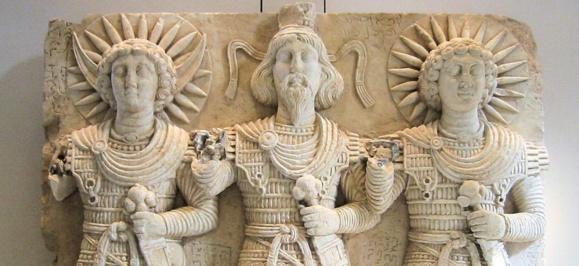 Déités de Palmyre. Musée du Louvre