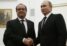 """La France et la Russie vont """"coordonner"""" leurs frappes contre l'EI"""