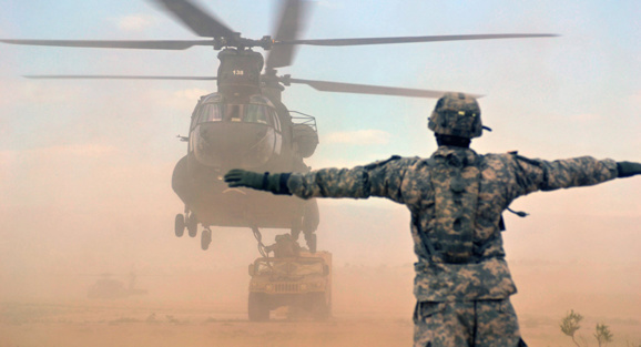Syrie: les USA construisent une deuxième base aérienne en zone kurde