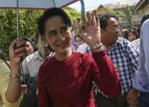 """La """"Dame de Rangoun"""" furieuse d'être interviewée par une musulmane"""