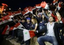 Damas célèbre la journée des Martyrs dans le théâtre antique de Palmyre