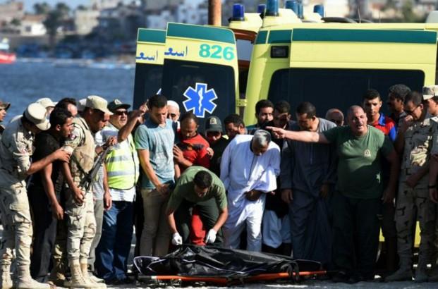 Migrants: plus de 160 morts dans un naufrage au large de l'Egypte